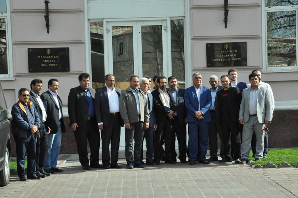 Представники ділових кіл Ірану в Одеському порту