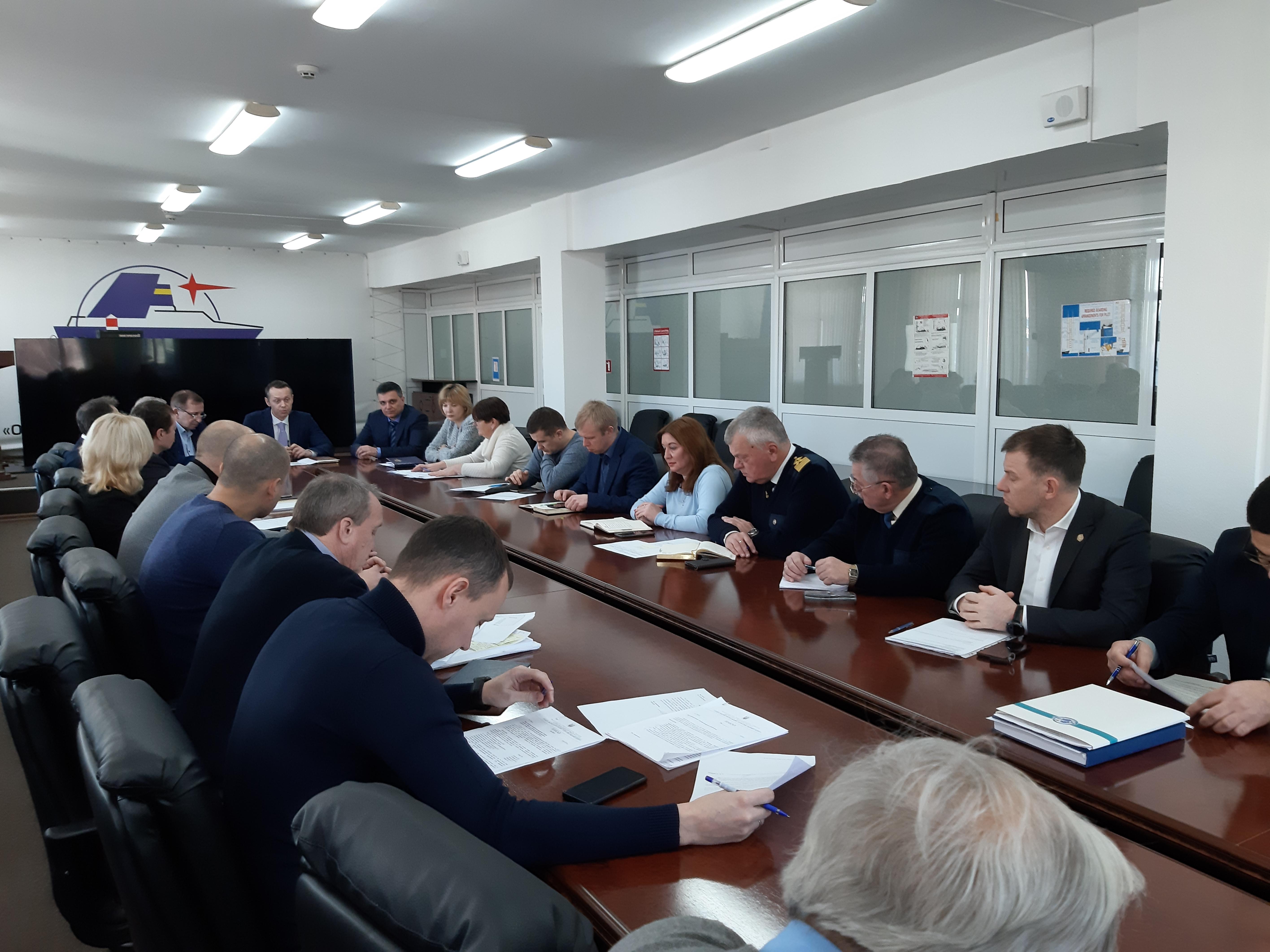 В ДП «Одеський порт» обговорили міри протидії коронавірусу