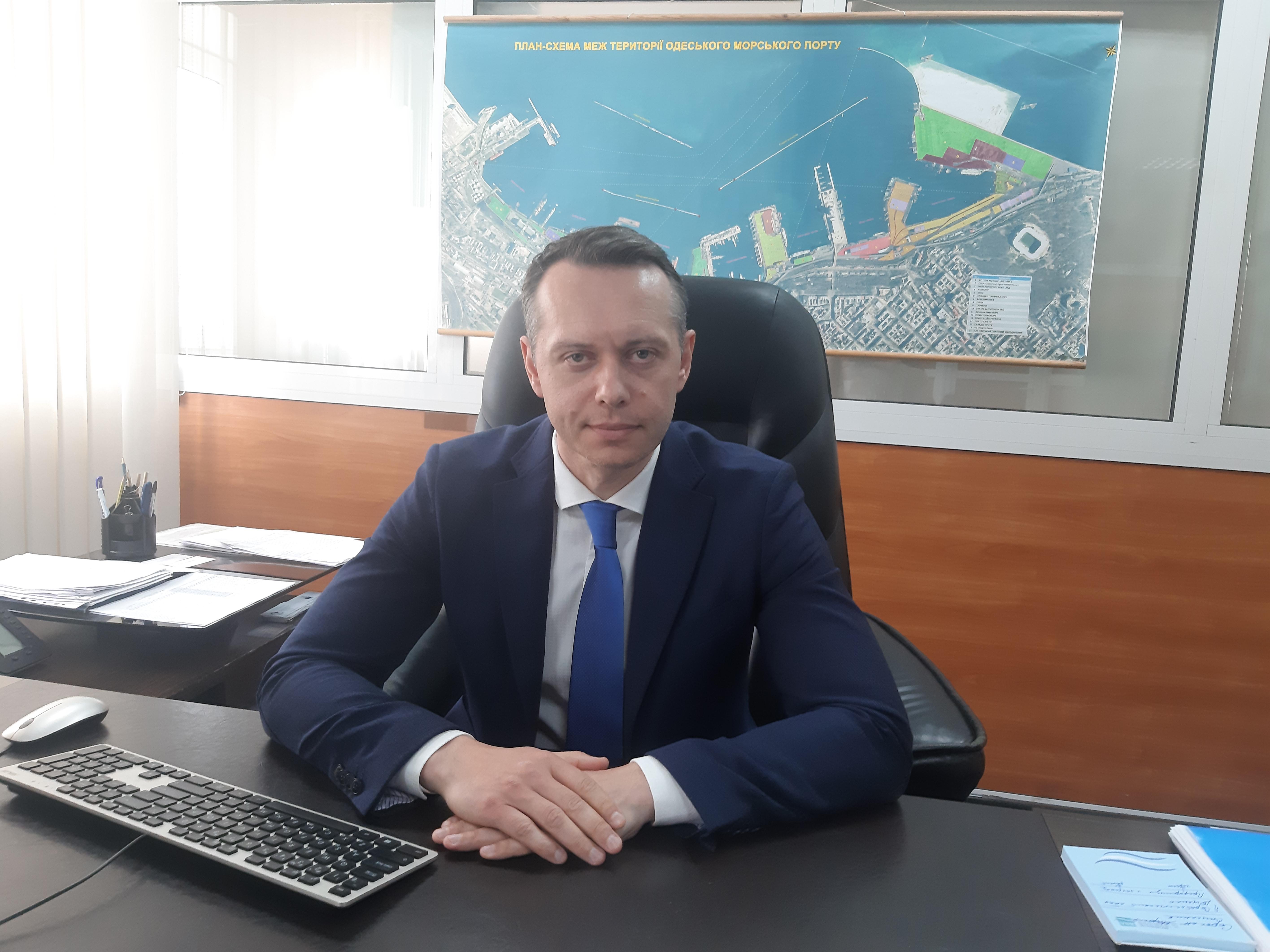 «Портофлот може бути конкурентоспроможним», - керівник ДП «Одеський порт» Олексій Мясковський