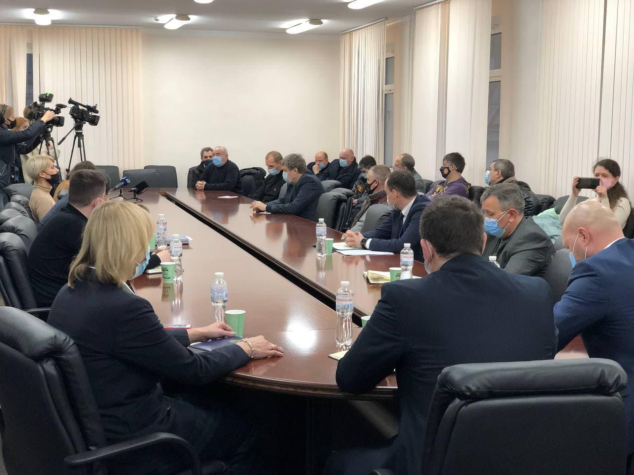 Нарада за участю керівництва порту, трудового колективу ДП «Одеський порт» та  представників ЗМІ