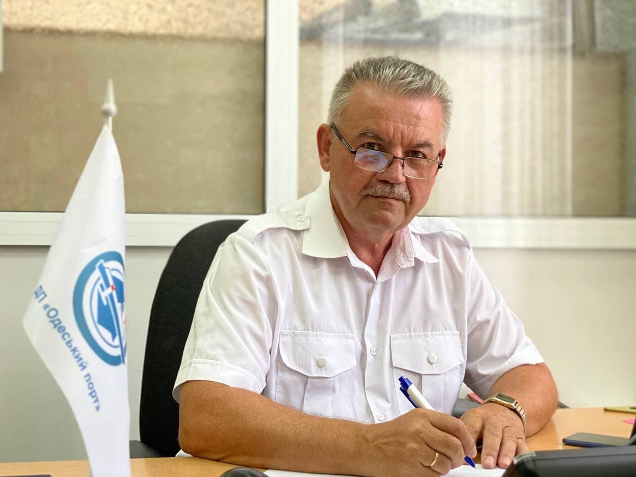 Інтерв'ю з керівником Первинної професійної спілки Одеського порту Вельчевим Володимиром Ананійовичем.