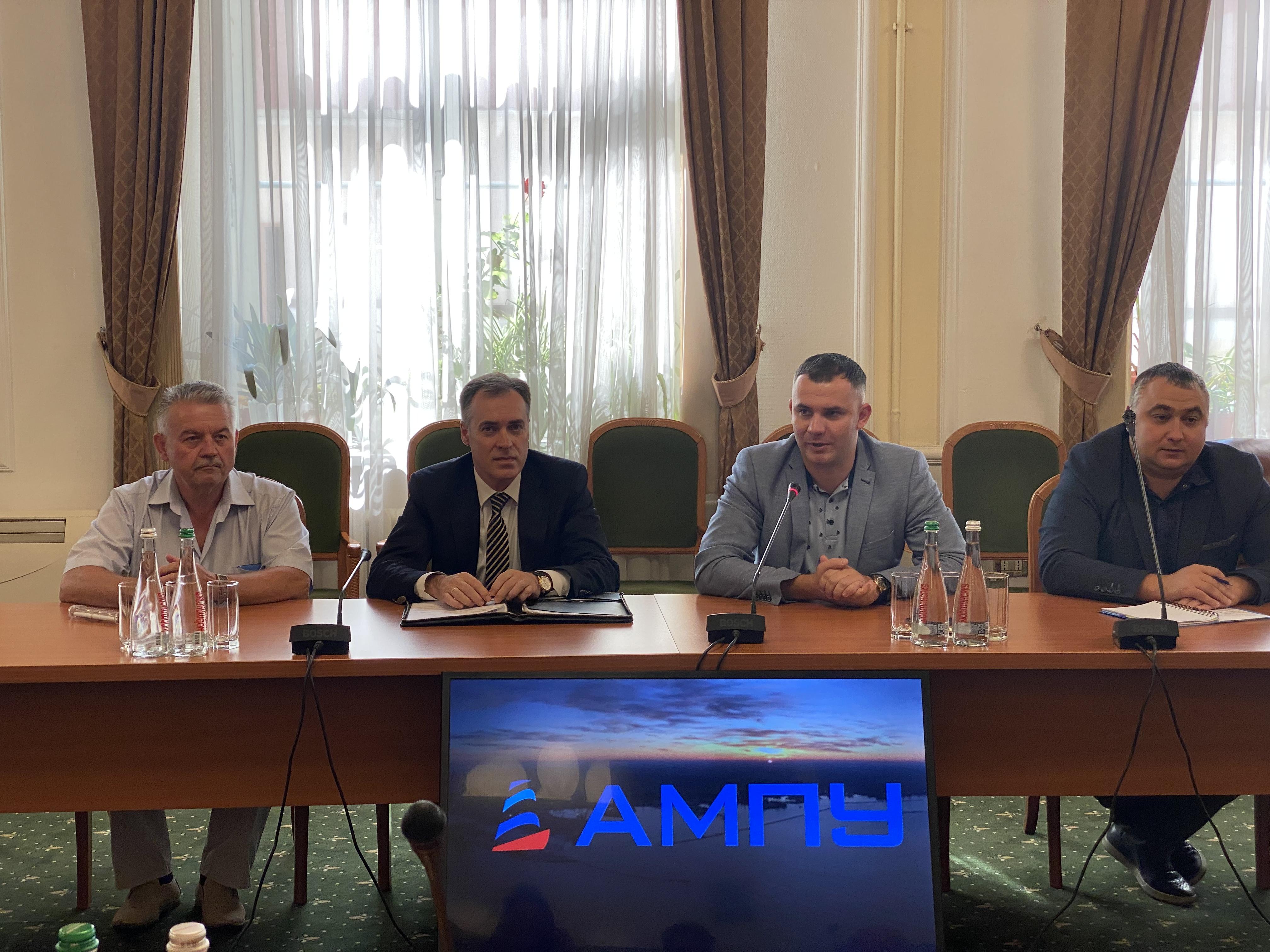 Офіційний візит Латвійської делегації до Одеського порту
