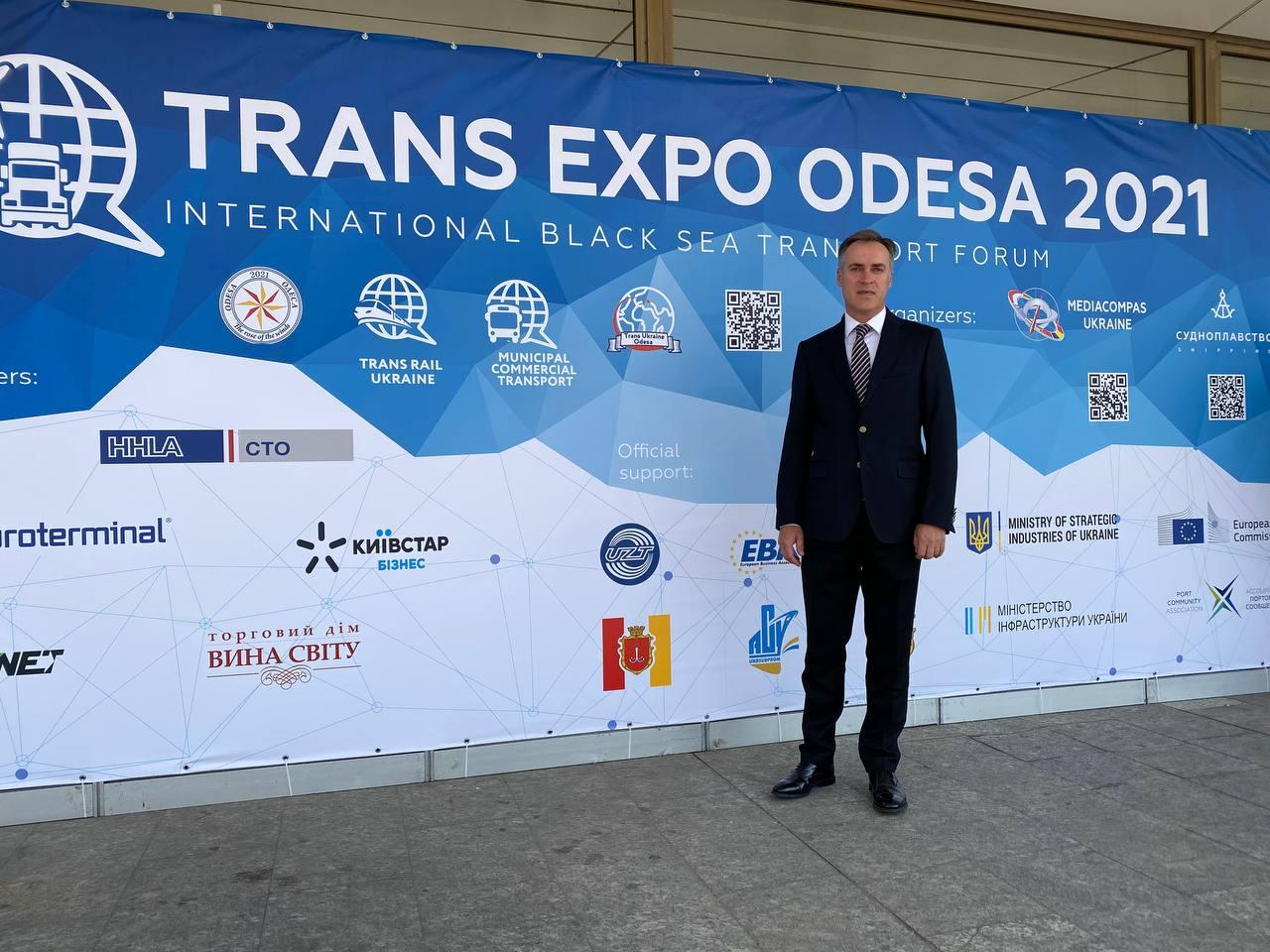 Відкриття міжнародного транспортного форуму TRANS EXPO ODESA 2021