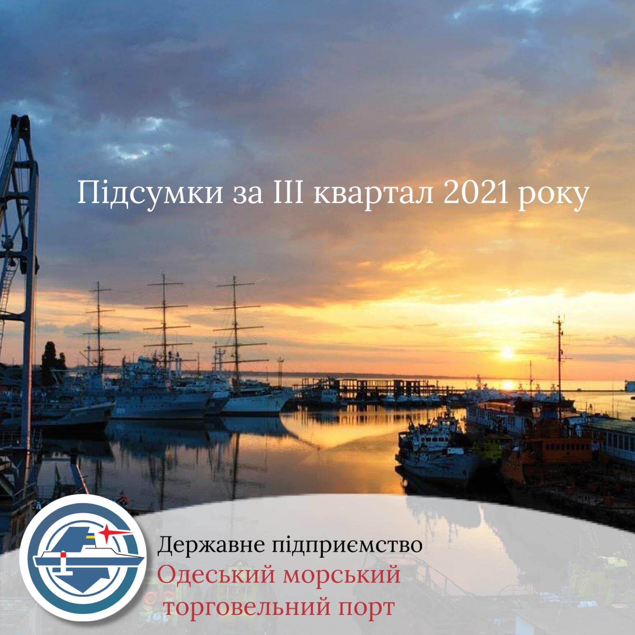 Підсумки за ІІІ квартал 2021 року